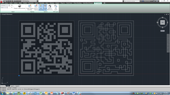 AutoCAD 2012 showing the PDF Underlay and the created linework.
