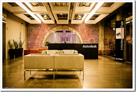 Autodesk One Market Reception