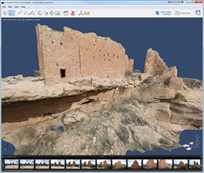 Hovenweep National Monument in Project Photofly