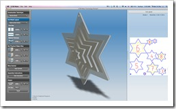 Christmas Ornament in 123D Make