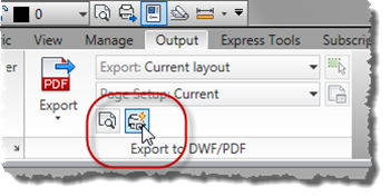 Export to PDF Options