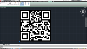 PDF Underlay of a QR Code in AutoCAD 2012