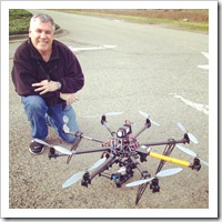 Autodesk's Gonzalo Martinez and the Autodesk Aerial Drone