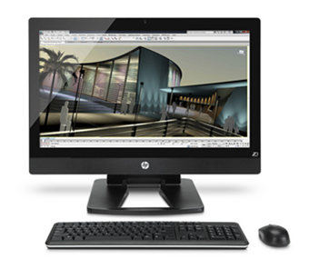 HP Z1 Workstation with Autodesk 3ds Max