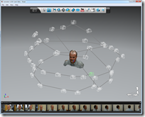 Autodesk 123D Catch and my head model in 3D