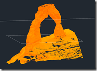 Delicate Arch as a Point Cloud
