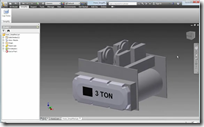 Crane Assembly Simplified Using Inventor Simplication for Inventor 2013