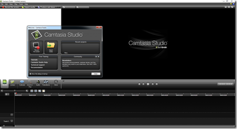 The New Camtasia 8