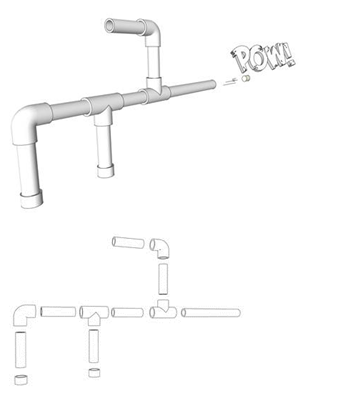 My Marshmallow Gun Illustrations