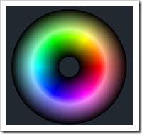 AutoCAD True Color Wheel