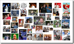 Some images ove the years at Autodesk