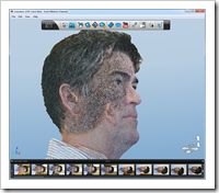Scott Sheppard Wireframe Mesh Head in Autodesk 123D Catch