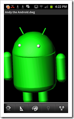 Android AutoCAD WS 1.4