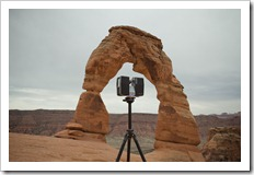 FARO Focus 3D Laser at Delicate Arch