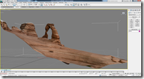 Delicate Arch in 3D created from 123D Catch in 3ds Max Software
