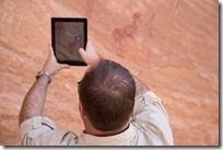 Capturing Rock Art in 3D with Autodesk 123D Catch Mobile on my iPad