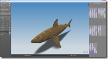 3D Shark Model Sliced into Cardboard!