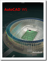 AutoCAD WS 1.5 Splash Screen