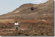 Autodesk Octo-Copter in Northern Kenya