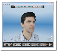 Brian Mathews Textured Head in Autodesk 123D Catch