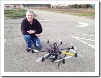 Gonzalo Martinez and the Autodesk Octo Copter