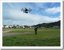 Autodesk's Octo-Copter Test Flight