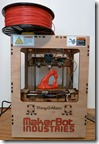 Delicate Arch Being Printed in 3D on a MakerBot