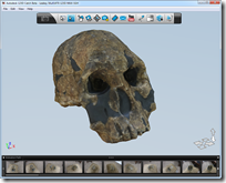 Skull 1470 in Autodesk 123D Catch