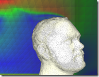 My Head in Digital Wind Tunnel - Autodek Labs Project Falcon