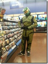 The Halo Master Chief Guy