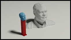 Shaan as PEZ Dispenser for 123dcatch