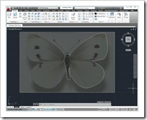Drawing Butterfly in AutoCAD
