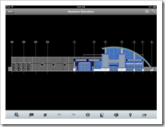 AutoCAD WS 1.5 on my iPad