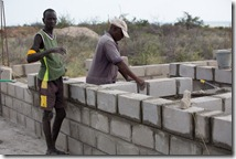 Construction in Illeret Kenya