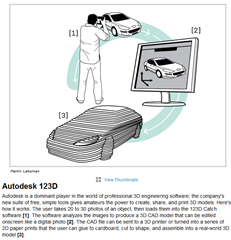 Autodesk 123D Makes it on The Top 10 Tech Breakthroughs of 2012