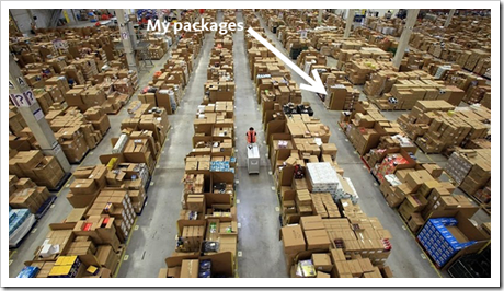 Amazon.com Warehouse photo credit Gizmodo