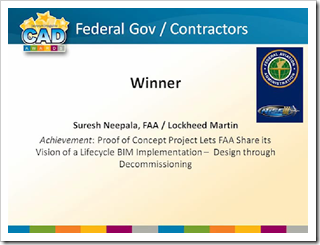 Federal Government and Contractors Category Winner