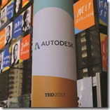 New Autodesk Logo shown at TED 2013