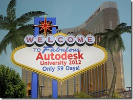 AU2012-Countdown Image created in Autodesk 3ds Max