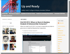 Autodesk Up and Ready Blog