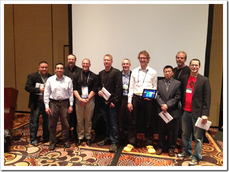 AppHack Participants at AU 2012