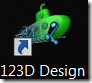 Autodesk 123D Design icon