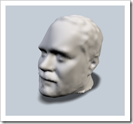 Shaan's Head in 3D Model created using Autodesk 123D Catch
