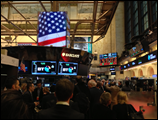 Kairos Event on the NYSE Stock Exchange Floor