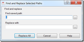 Find and Replace Paths in Reference Manager