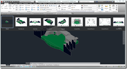The new File Tabs in AutoCAD 2014