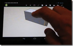 Autodesk FormIt on Android Tablet