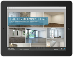 Autodesk Homestyler Mobile - Design Stream Gallery of Empty Rooms