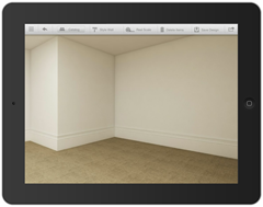 Autodesk Homestyler Mobile - Empty Room