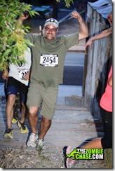 Zombie Chase 5k 2013 Me having a good time!